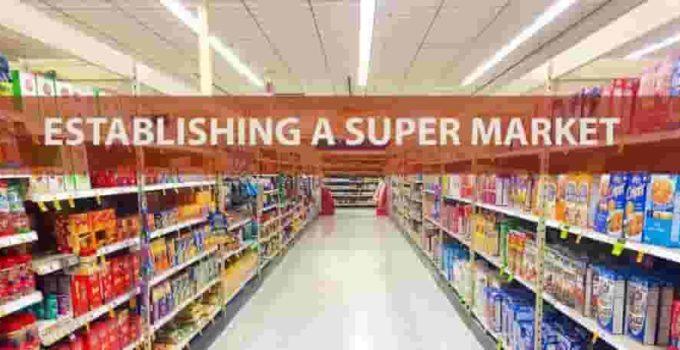 Supermarket license in Dubai